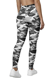 Camo legginsit harmaat