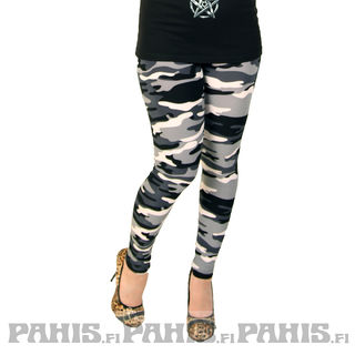 Urban Classics Snow Camo - leggings
