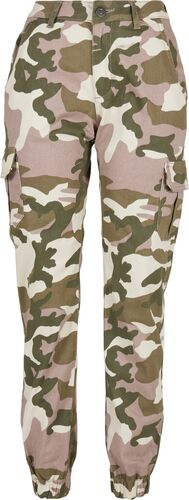Light pink cargo pants