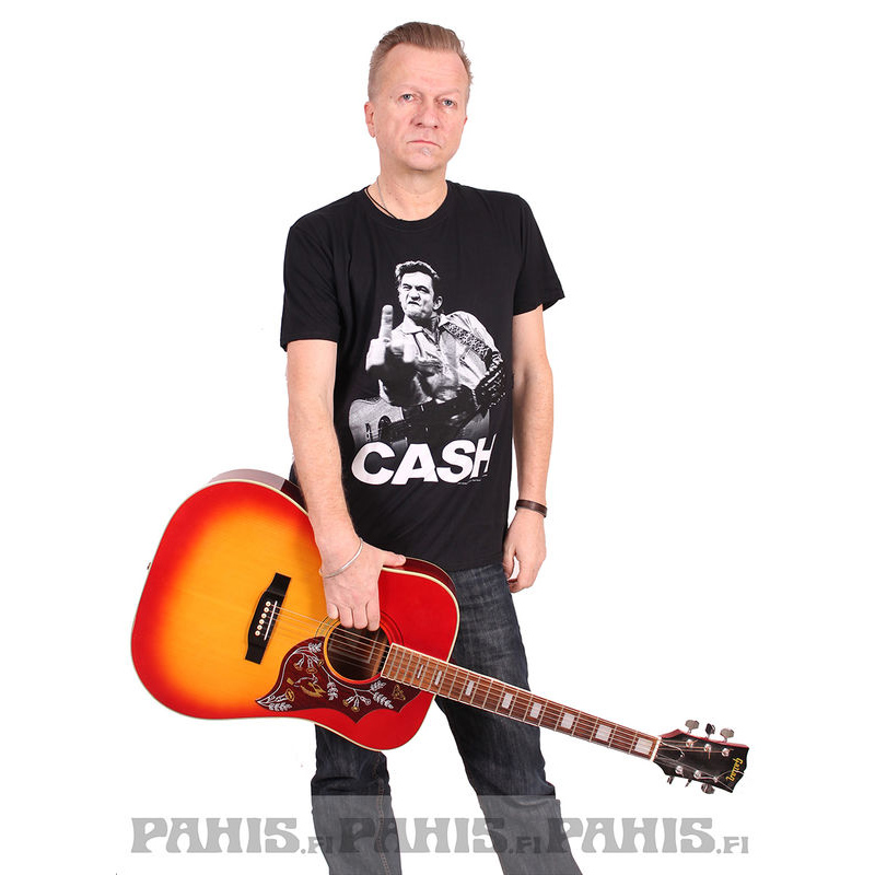 Johnny Cash Finger - T-shirt