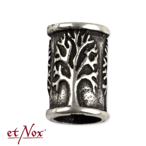 etNox Tree - Beard and hair pearl, silver