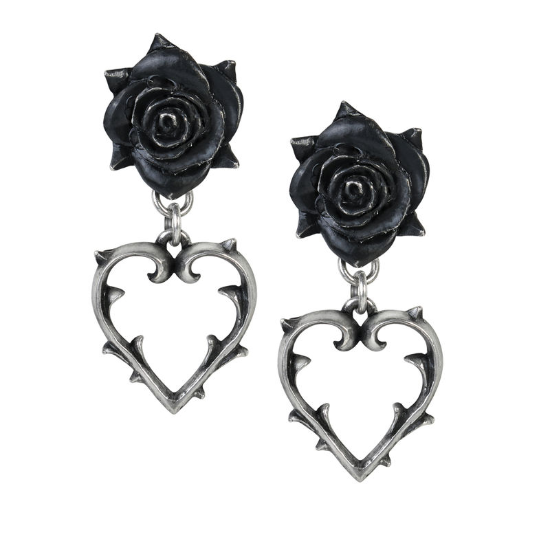 Alchemy Gothic Wounded Love - Earrings