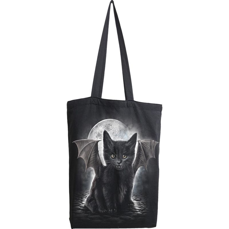 Spiral Bat Cat - Tote Bag