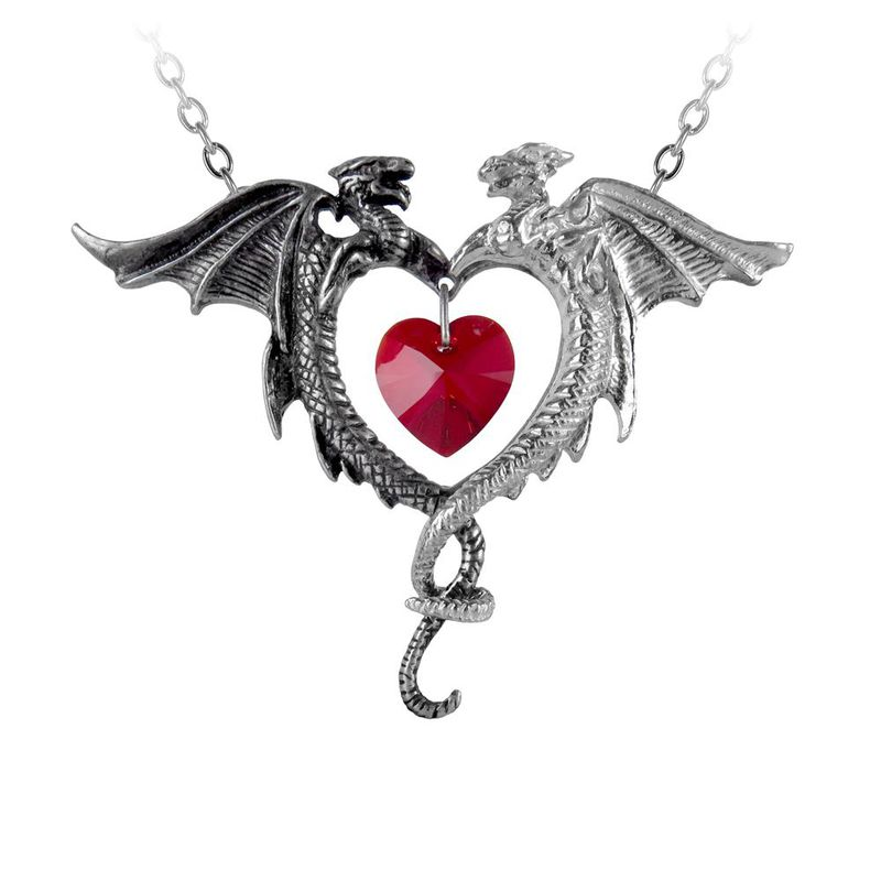 Alchemy Gothic Coeur Sauvage - Necklace