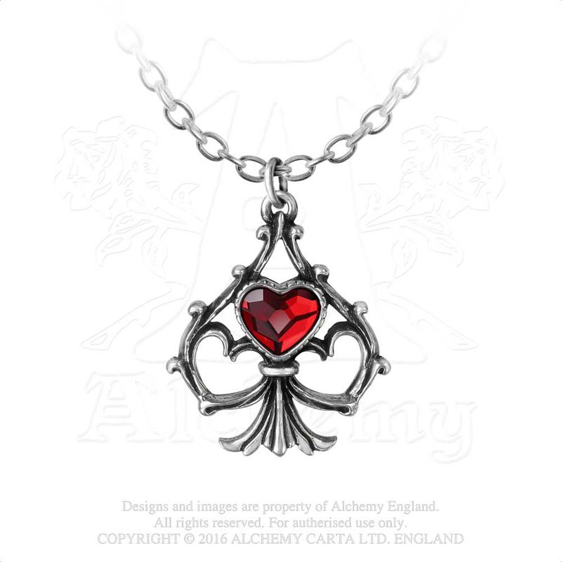 Alchemy Gothic Lucky In Love - Necklace