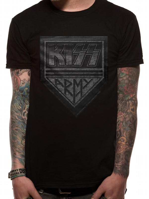 Kiss Army Distressed - T-shirt