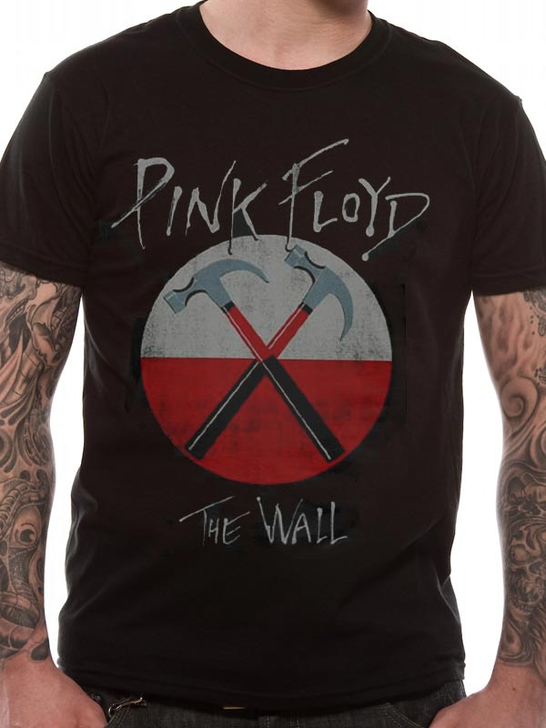 Pink Floyd The Wall Logo - T-shirt
