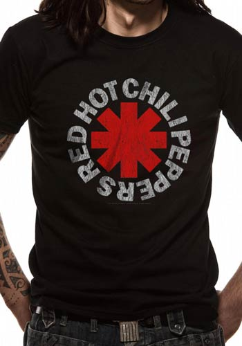 Red Hot Chili Peppers Distressed Asterisk - T-shirt