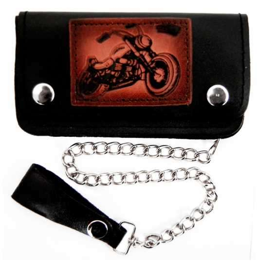 Biker - Leather wallet