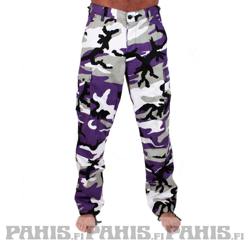 Rothco Color Camo - Cargo Pants, ultra violet