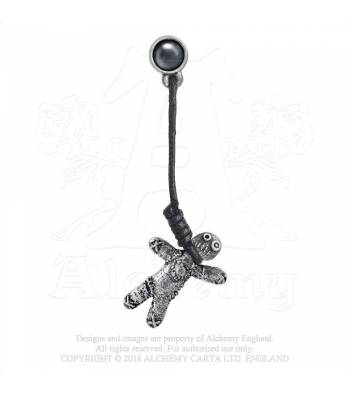 Alchemy Gothic Voodoo Doll  - Earring