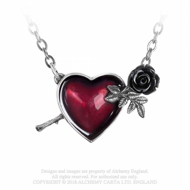 Alchemy Gothic Wounded By Love - Necklace
